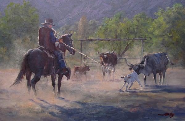Gonna Be A Steer Art | Artisanjefflove