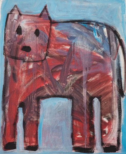 Calico Dog Art   stephengerstman