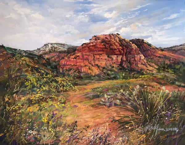 Lindy Cook Severns Art | Canyons Are Calling, print