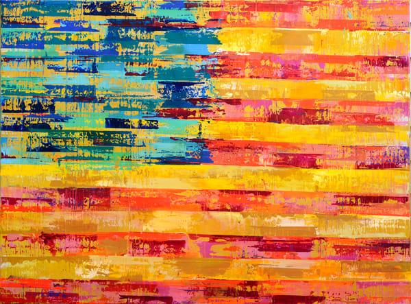 American Flag Striped  Art | benbonart