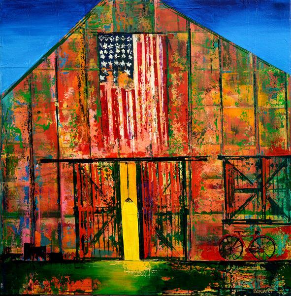 Barn Door  Art | benbonart