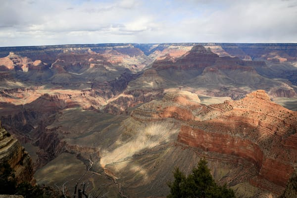 Darkness Over The Grand Canyon Photography Art | Julie Williams Fine Art Photography
