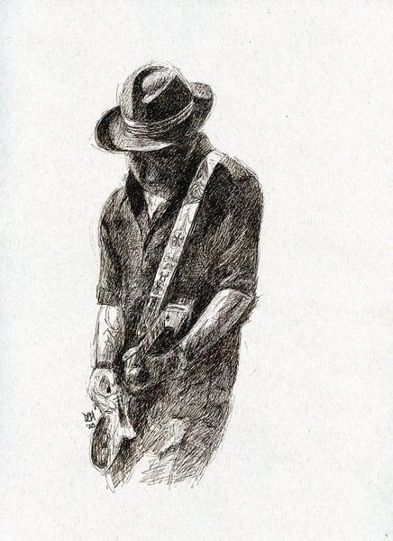 Doug Hart Of The Doug Hart Band Art | Cincy Artwork