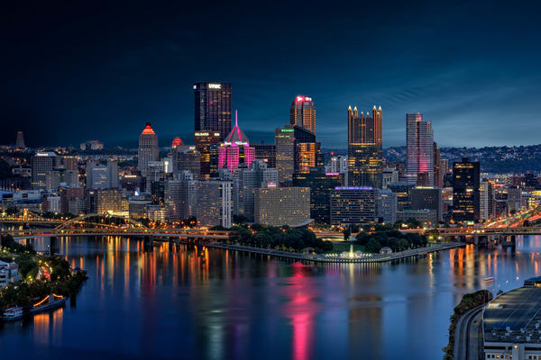 Pittsburgh Twilight | Shop Photography by Rick Berk