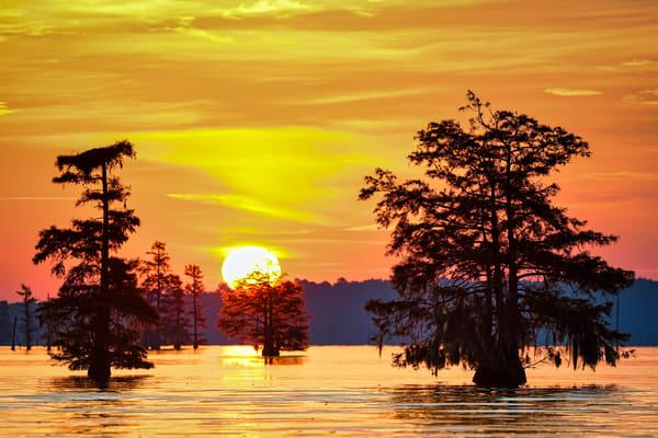 Lake Marion Sunrise - South Carolina fine-art photography prints
