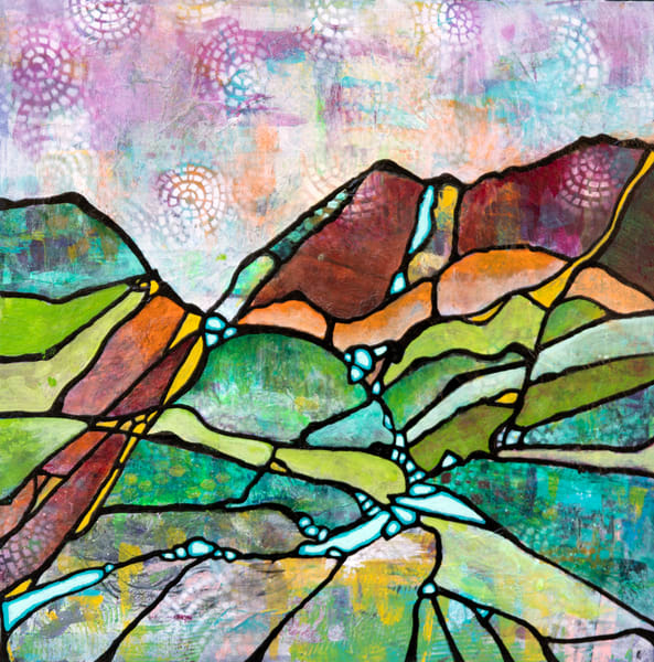 Ridges And Rivers Art | Becka Watkins Art