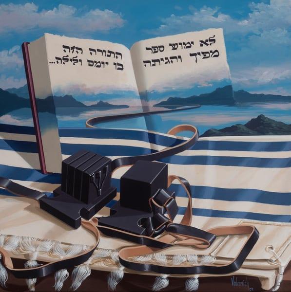 Tefillin Art | Moshe Volcovich