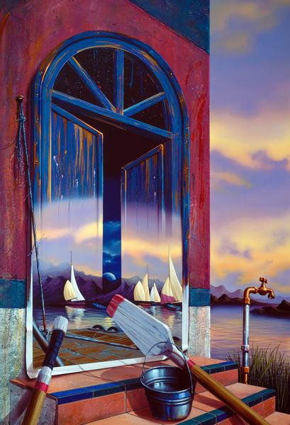 Port In Door Art | Moshe Volcovich