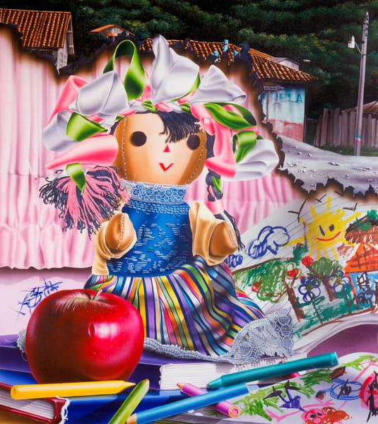 Childhood Days Art | Moshe Volcovich
