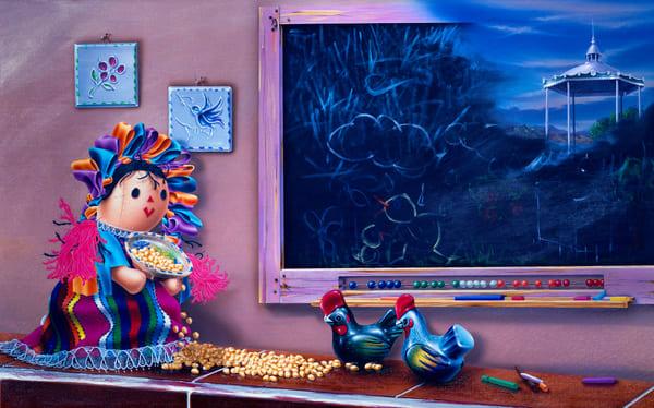 The Memories Of Blanquita Art | Moshe Volcovich