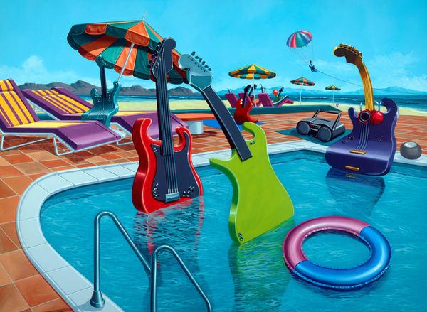 Spring Breakers Art   Moshe Volcovich