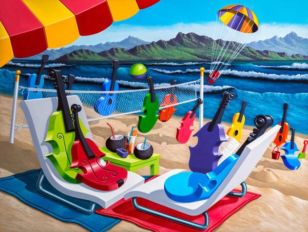 Summering Art   Moshe Volcovich
