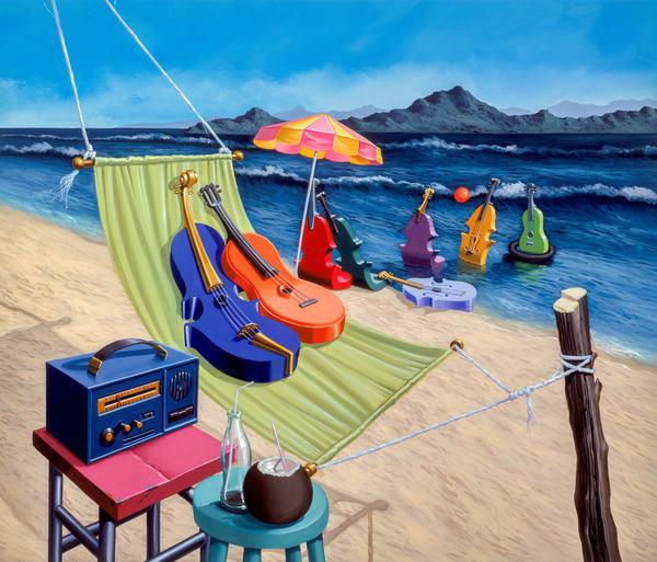 Cuando Calienta El Sol Art   Moshe Volcovich