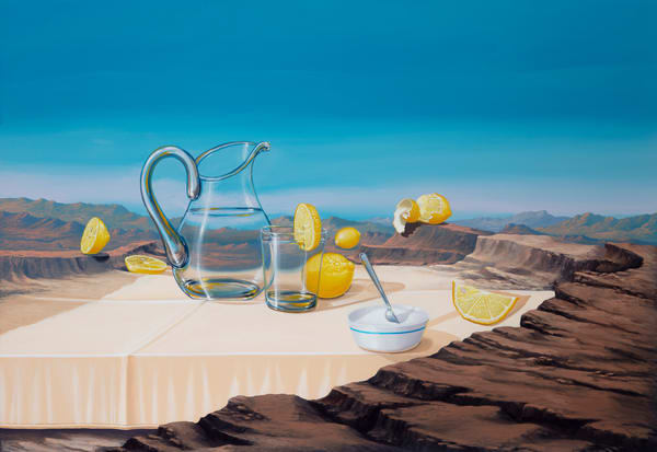 When Life Gives You Limes Art | Moshe Volcovich