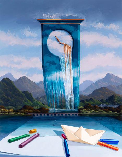The Clock Of Nostalgia Art | Moshe Volcovich