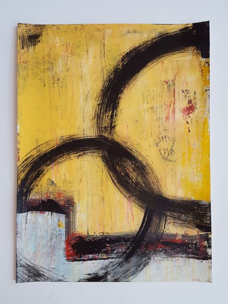 Synergy No. 3 | Original On Paper Art | Southern Heart Studio, LLC