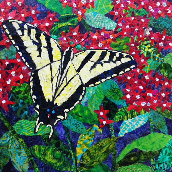 Catch A Tiger Swallowtail  Art | Poppyfish Studio