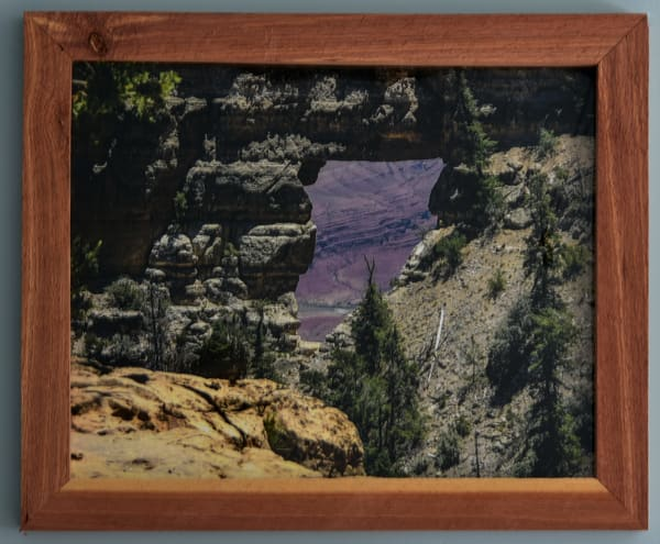 Angels Window Custom Cedar Frame | N2 the Woods Photography