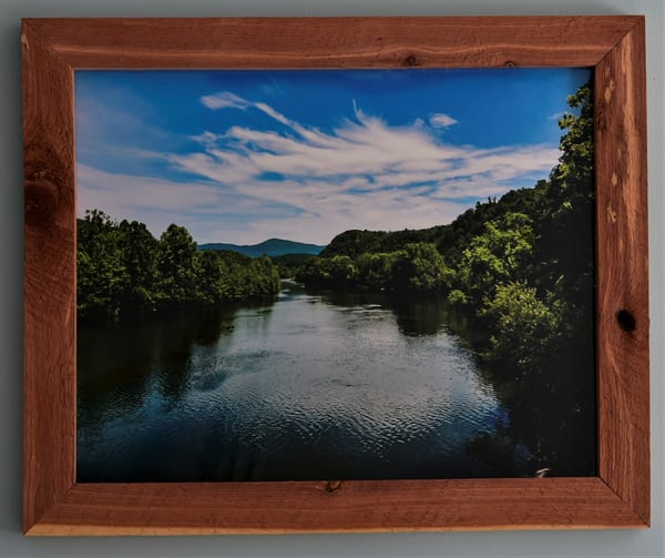 James River Custom Cedar Frame | N2 the Woods Photography