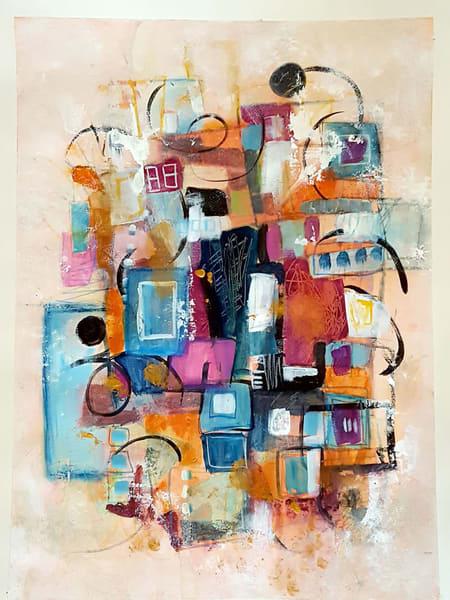 Organized Chaos | Original On Paper Art | Southern Heart Studio, LLC
