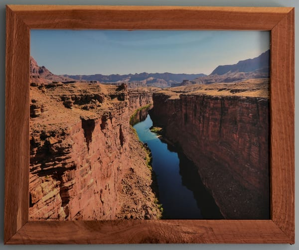 Marble Canyon Custom Cedar Frame | N2 the Woods Photography
