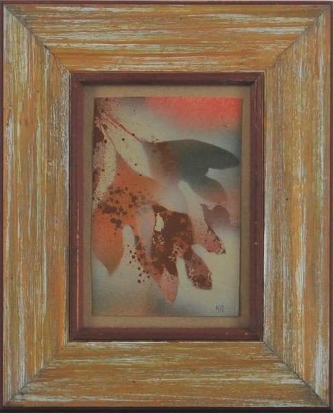 Kay Ridge - original artwork - nature - trees - autumn - Autumn Leaves 1