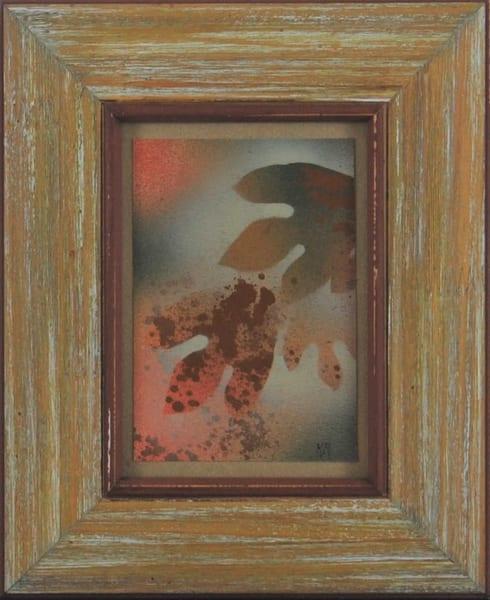 Kay Ridge - original artwork - nature - trees - autumn - Autumn Leaves 2
