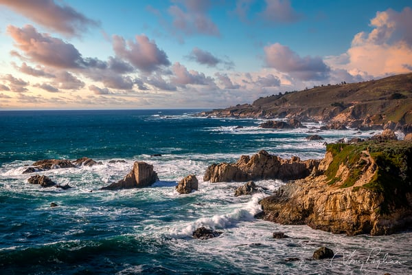 Big Sur Coast Sunset Art | Tony Pagliaro Gallery