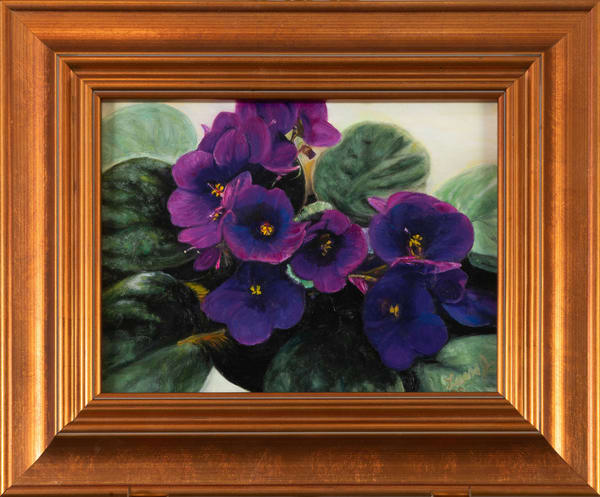 African Violets | Art a la Carte Gallery (Karen Rexrode, Manager)