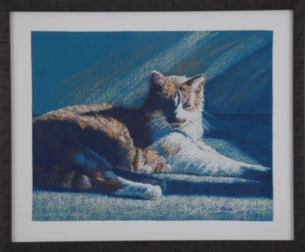 Kay Ridge - original artwork - animals - cat - Kitty Bliss