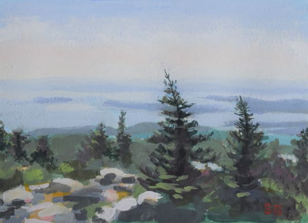 Top Of The Mountain  Art | Sharon Guy