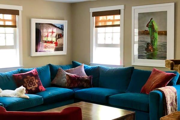 Tami Livingroom Photography Art | nancyney