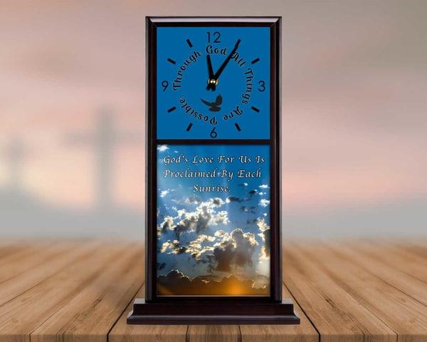 Spiritual Mantel Clock