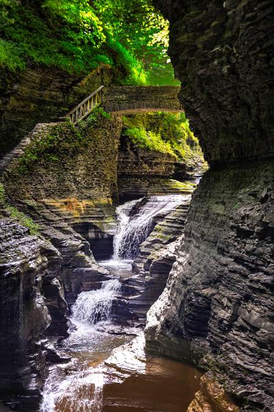 Watkins Glen Waterfall
