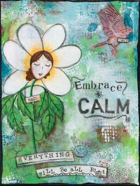 Embrace Calm   Prints Art | Mercedes Fine Art