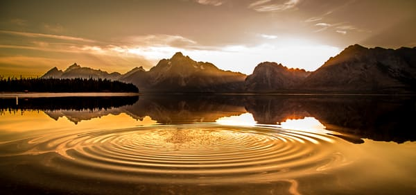 Jackson Lake Photograph in Grand Teton National Park