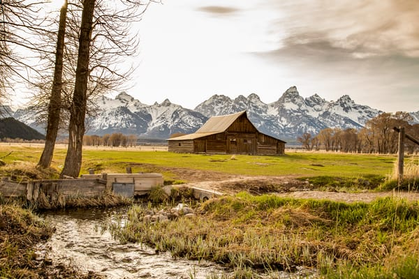 Photo of Barn at Mormon Row Grand Teton National Park