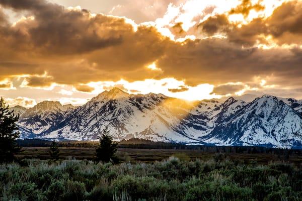 Photo of Grand Teton Sunset
