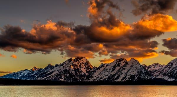 Jackson Lake Sunset at Grand Teton