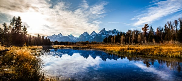 Schwabacher Landing Grand Teton National Park Photo