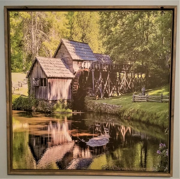 Mabry Mill Framed Canvas | N2 the Woods Photography