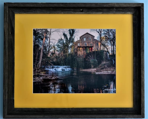 Fall Mill Framed Print | N2 the Woods Photography