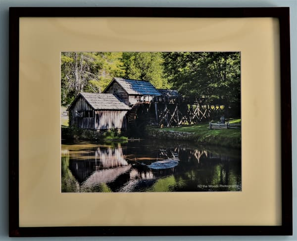 Mabry Mill Framed Print | N2 the Woods Photography