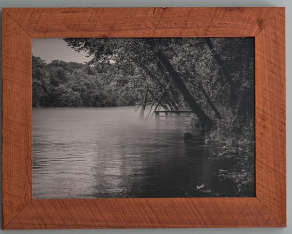 Moody Boat Ramp Custom Cedar Frame | N2 the Woods Photography