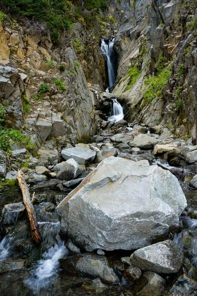 Edith Gorge Falls, Mt. Rainier National Park, Washington, 2020