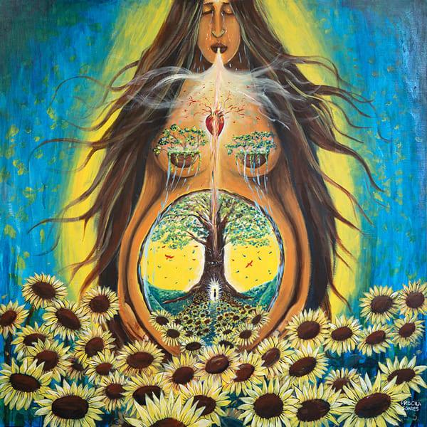 Breath Of Life   Original Art | Priscila Soares - MyLuckyEars