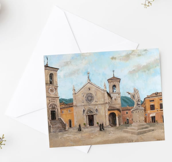 Norcia Notecards Art | Michelle Arnold Paine Fine Art