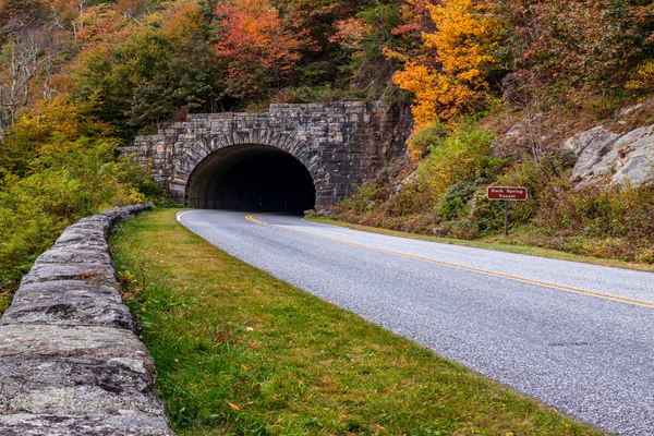 Autumn At Buck Spring Tunnel Art | Red Rock Photography