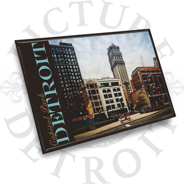 Capitol Park Construction Magnet | Picture Detroit