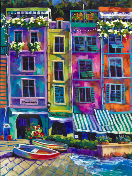 Morning In Portofino Art | Jill Charuk Art